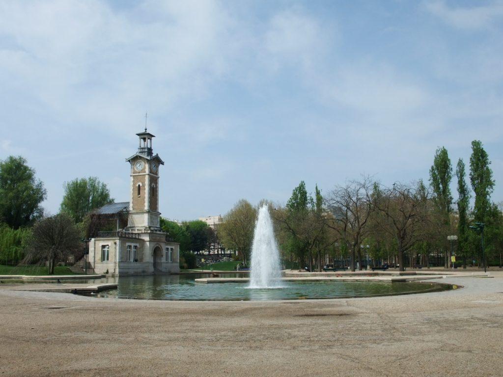 ジョルジュ・ブラッサンス公園の噴水