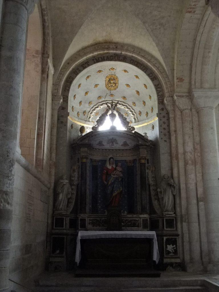 サン・ジョルジュ・ド・ボシェルヴィル修道院 内部