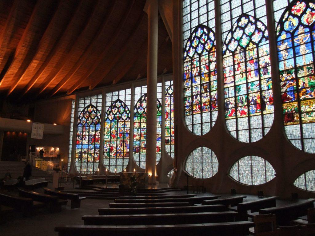 聖ジャンヌダルク教会 内部