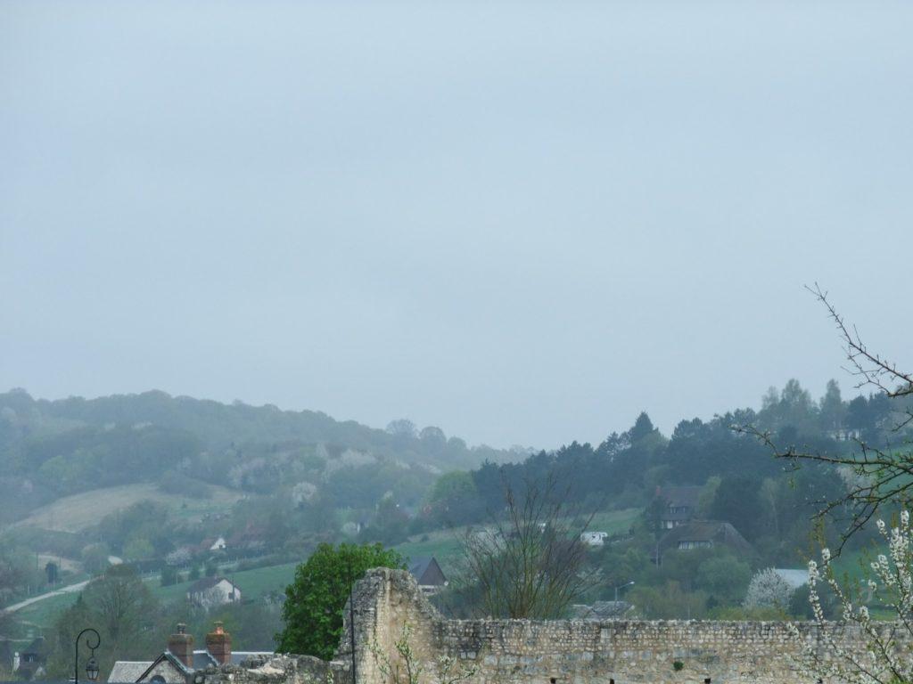 サン・ジョルジュ・ド・ボシェルヴィル修道院から見る景色