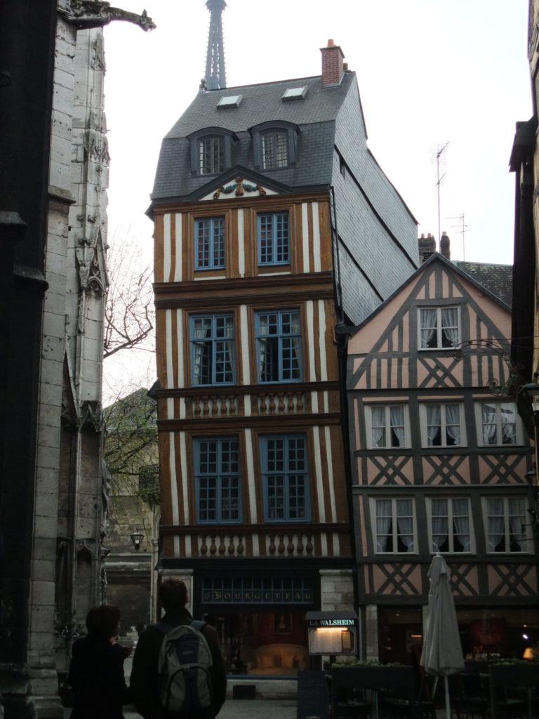 ルーアン 旧市街