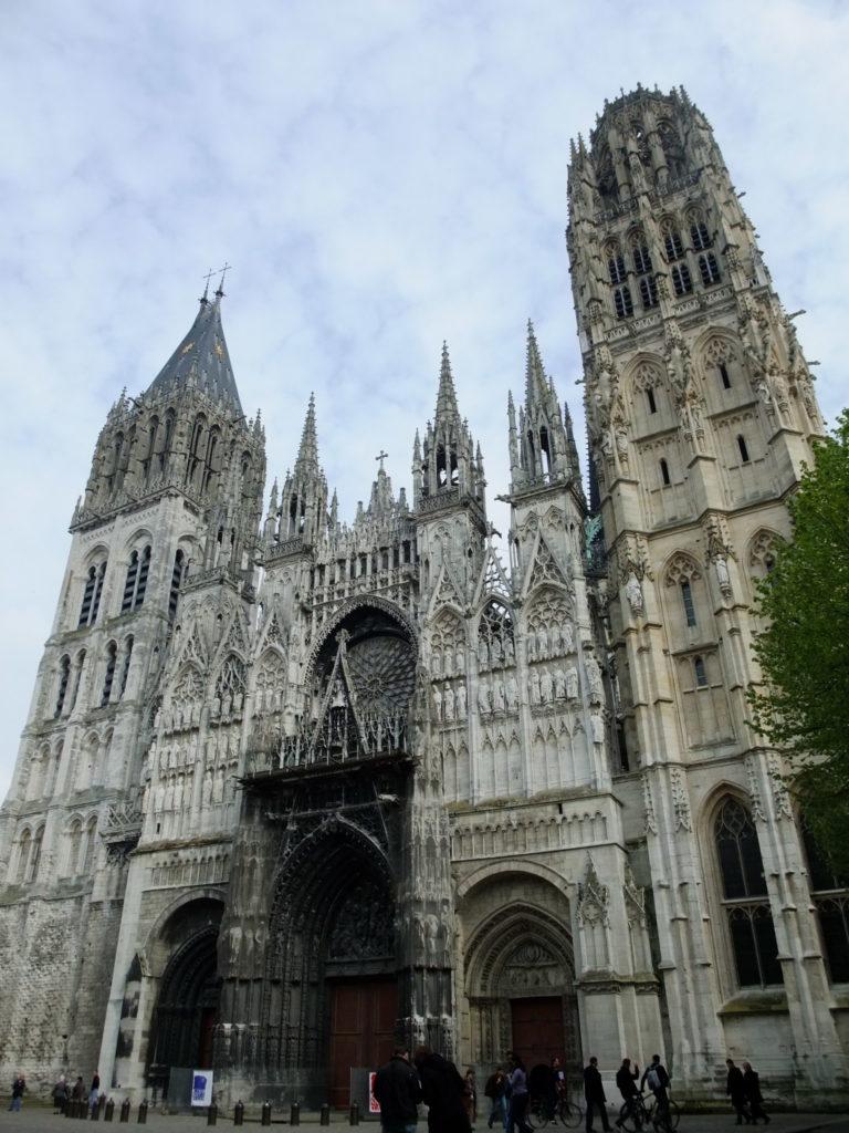 ルーアンノートルダム大聖堂フランボワイヤン様式の西側正面