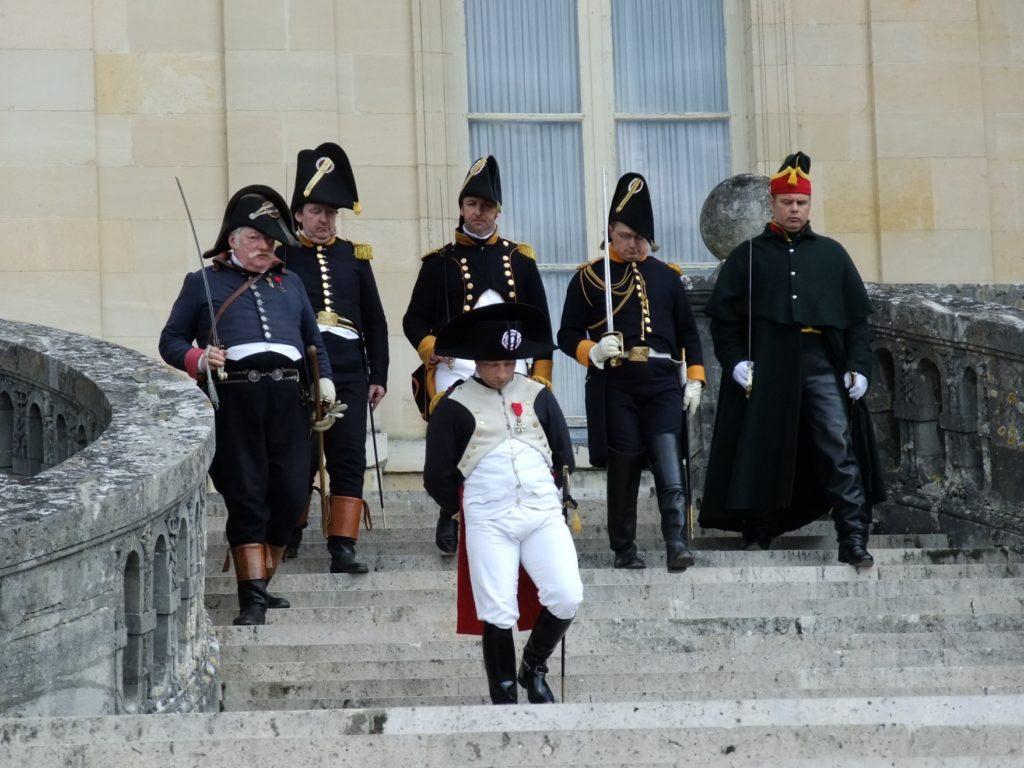 フォンテーヌブロー宮殿のナポレオンのイベント