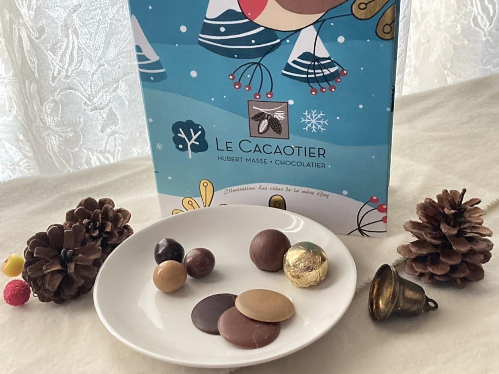 Le Cacaotier (ル・カカオティエ) のアドベントカレンダーのチョコレート