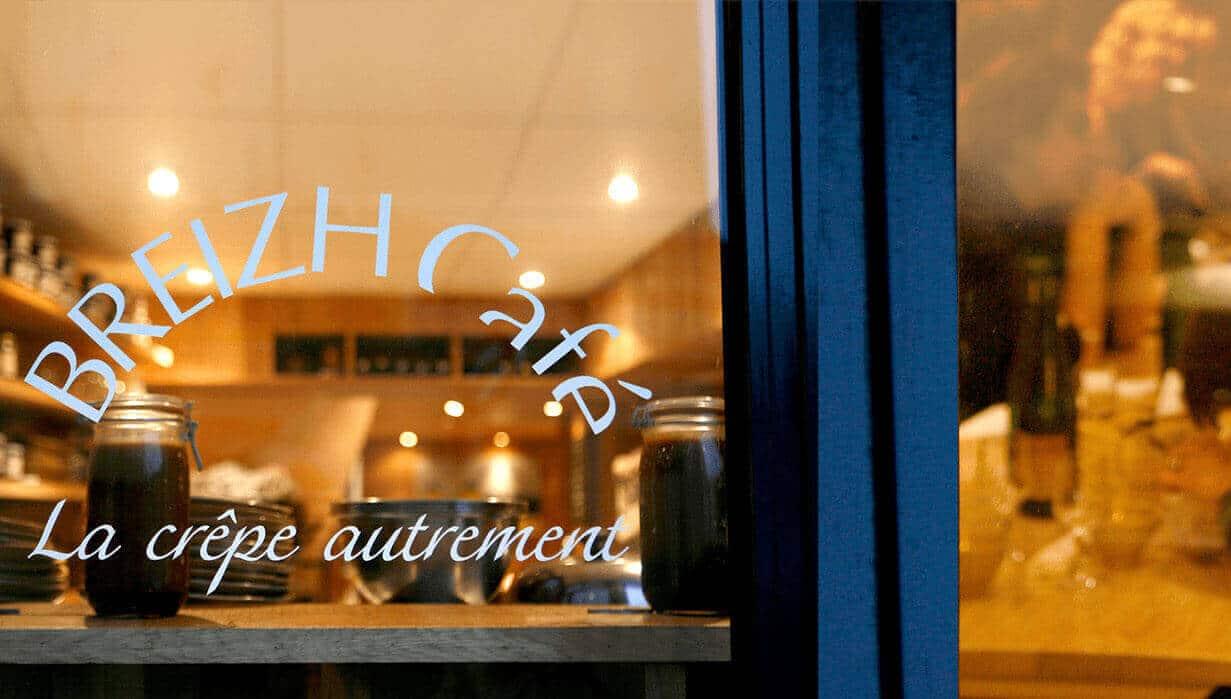 CRÊPERIE BREIZH CAFÉの店の外観